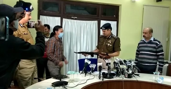 Tripura Director General of Police (DGP) VS Yadav said the four senior NLFT (Biswa Mohan) commanders laid down their arms before the state police.