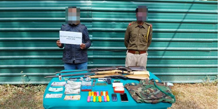 Nagaland: 2 NSCN cadres held with arms in Dimapur 1