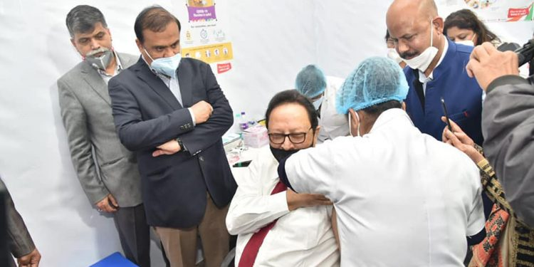 5462 people vaccinated against COVID-19 in Northeast today, no 'adverse effect' reported: Centre 1