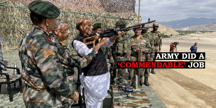 India-China standoff: Rajnath Singh praises Army for 'raising morale and pride of the Country' 1