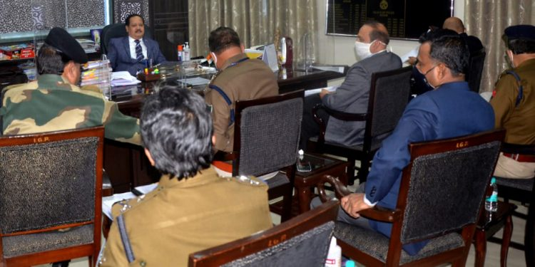 Police and other security agencies held a crucial meeting on Thursday to discuss preparedness for the Assam Assembly Elections.