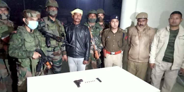 Indian Army, Assam Police nab KLO cadre