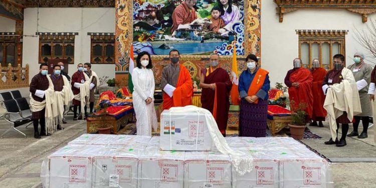 COVID19 vaccines in Bhutan