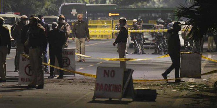 Blast near Israel embassy