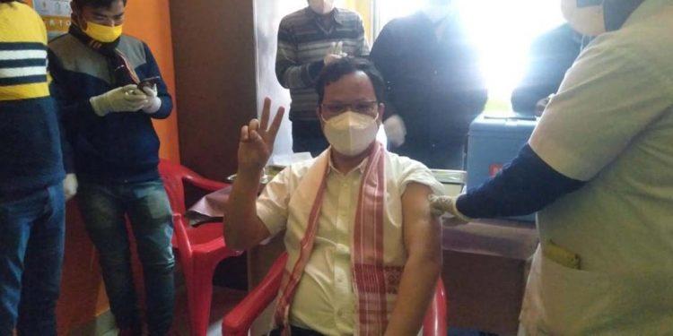 Covid19 vaccine in Hojai