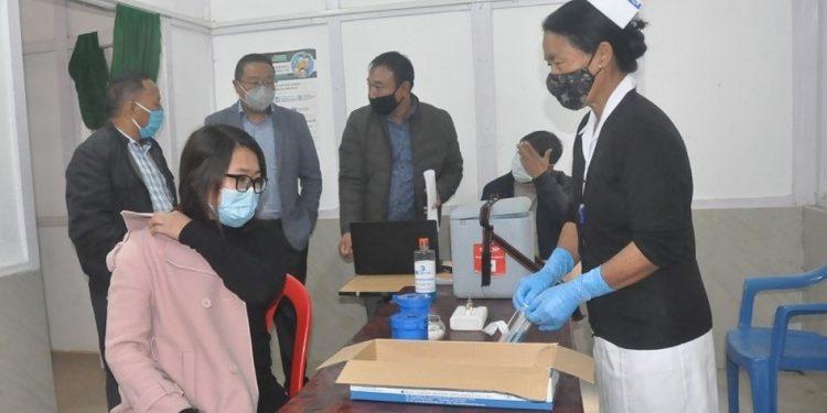 Nagaland: COVID-19 vaccination dry run in Wokha 1