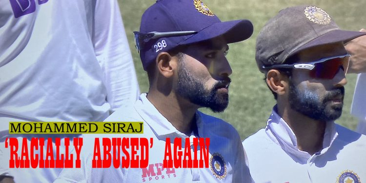 India vs Australia Test series: Pacer Mohammed Siraj 'racially abused' again at Sydney 1