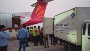 First batch of COVID-19 vaccines for Assam, Meghalaya arrives in Guwahati 2