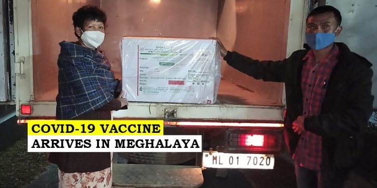 35 thousand doses of COVID-19 vaccine arrive in Meghalaya 1