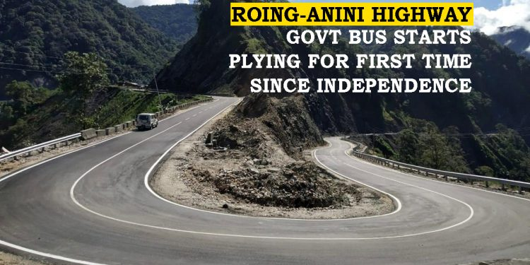 Arunachal Pradesh: Government bus plies between Roing and Anini for first time since independence 1