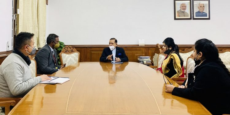 Sikkim Film City: DoNER Minister Jitendra Singh holds discussions 1