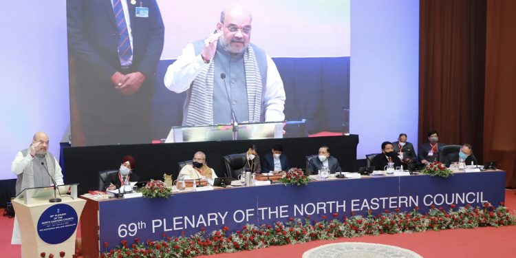Home Minister Amit Shah attends 69th Northeastern Council plenary session 1