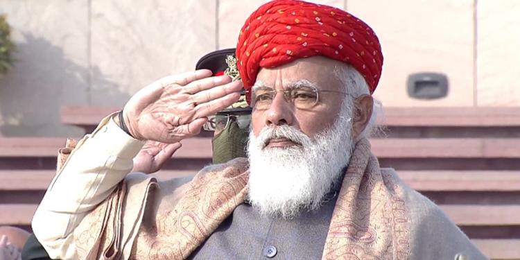 PM Narendra Modi sports 'Halari Paghdi' on Republic Day, turban becomes talk of the town 1