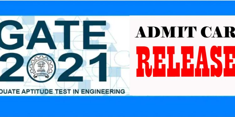 GATE 2021 Admit Card released, Admit Card download link here 1