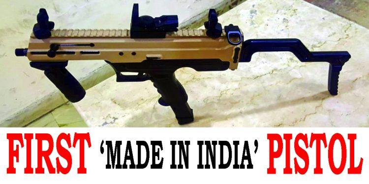 Boost to Atmanirbhar Bharat initiative: DRDO, Army develop India's first indigenous machine pistol 'Asmi' 1