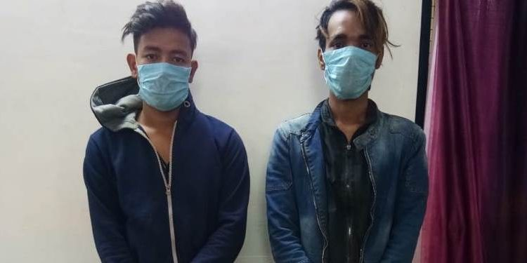The gunrunners have been identified as Rohan Pradhan (20) and Lucky Pradhan (22).