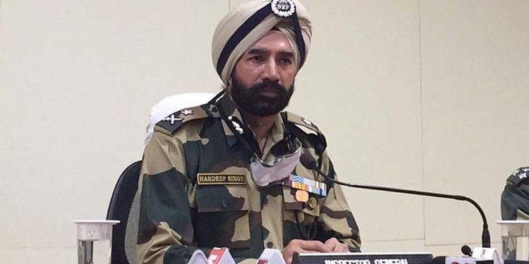BSF IG, Meghalaya Frontier – Hardeep Singh.
