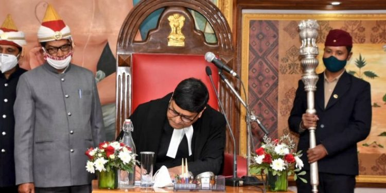 Assam: Sudhanshu Dhulia takes oath as Gauhati High Court chief justice 1