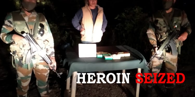 Mizoram: Assam Rifles seize heroin worth over Rs 40 lakh in Champhai 1