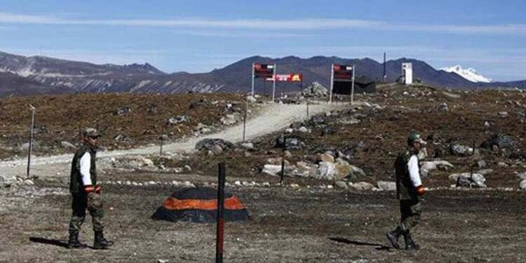 India China border in Sikkim