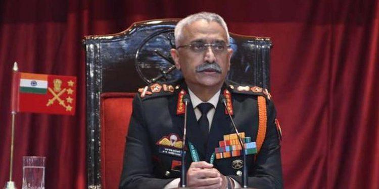 Indian Army Chief MM Navarane