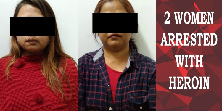 Mizoram: Two women arrested with heroin in Aizawl 1