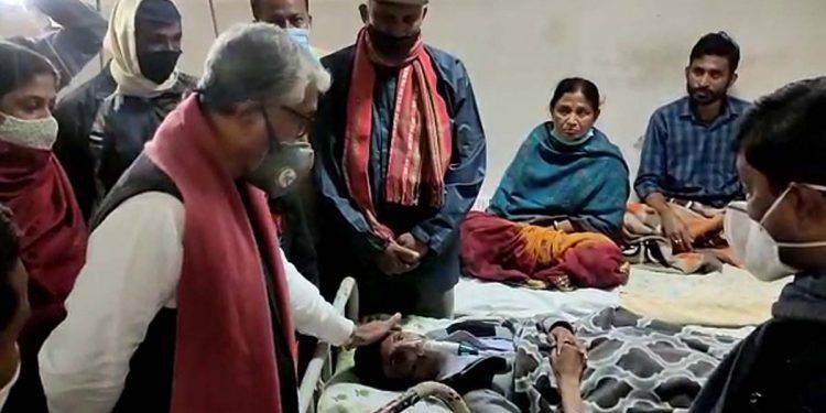 Manik Sarkar at IGM Hospital