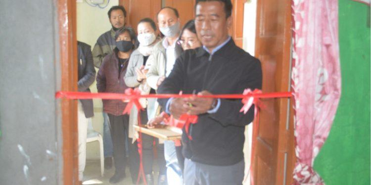Mushroom Spawn Production Laboratory inaugurated at Tuensang.