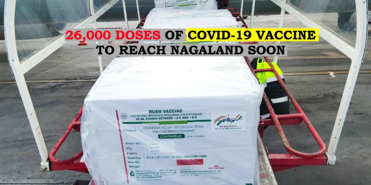 Nagaland gears up for COVID-19 vaccination, 26,500 doses reach State soon 1