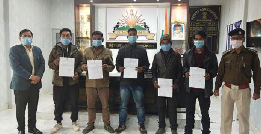 Arunachal: Five NSCN rebels surrender in Longding 1