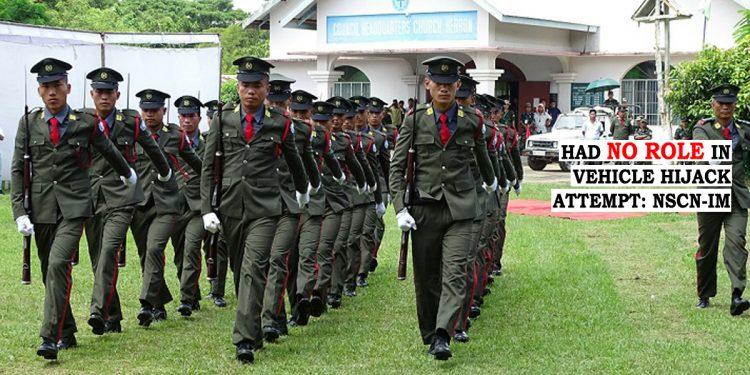 Nagaland: NSCN-IM denies role in 'vehicle hijack' attempt case 1