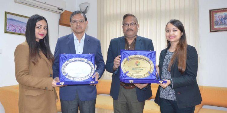 OIL receives awards