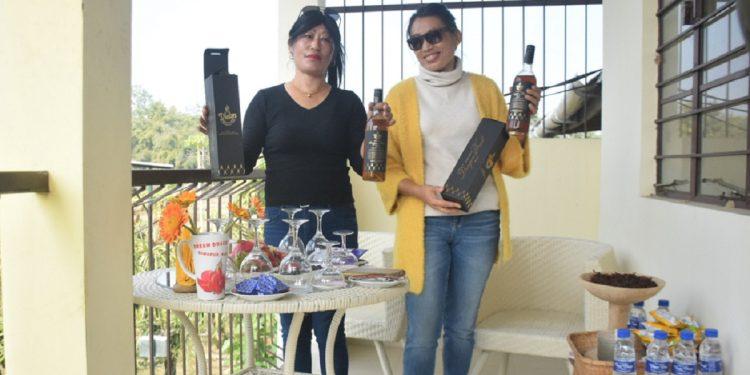 Nagaland: Lady entrepreneur produces 100% organic dragon fruit wine 1