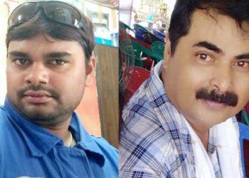 Ram Kumar (35) and (right) Pranab Kumar Gogoi (51). Image credit - Northeast Now