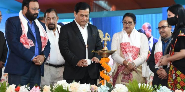 Assam chief minister Sarbananda Sonowal on Monday laid the foundation stone of a science city at Tepesia on the outskirts of Guwahati.