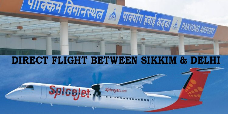 Boost to connectivity: SpiceJet announces daily non-stop flight between Delhi, Sikkim 1