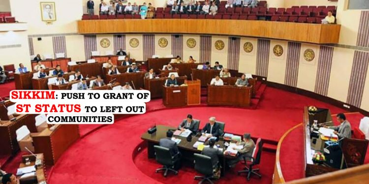 Sikkim Assembly adopts resolution for granting ST Status to 12 communities 1