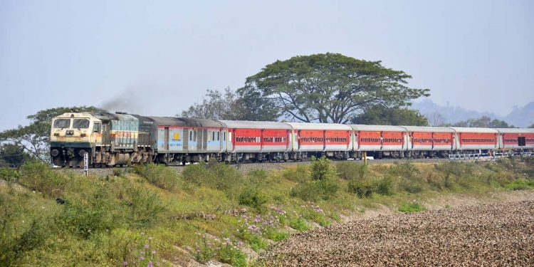 Special passenger train