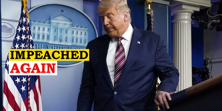 Donald Trump impeached again, becomes first President in US history to face impeachment twice 1