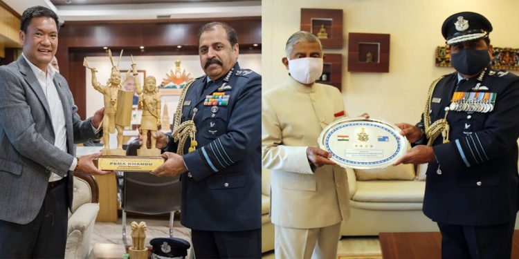 IAF Chief RKS Bhadauria visits forward bases in Eastern Air Command, assures Arunachal of support during need 1