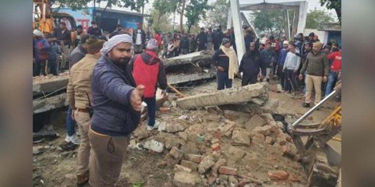 Uttar Pradesh cemetery tragedy