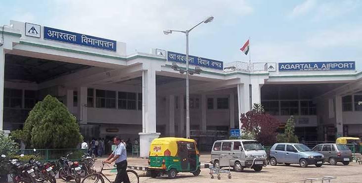 Agartala airport.