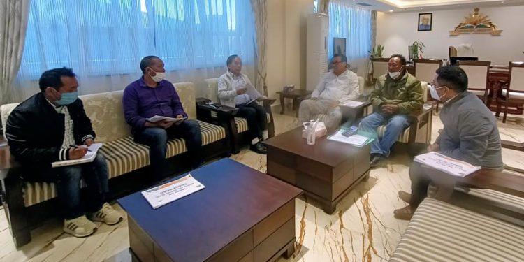 Arunachal Pradesh deputy chief minister Chowna Mein