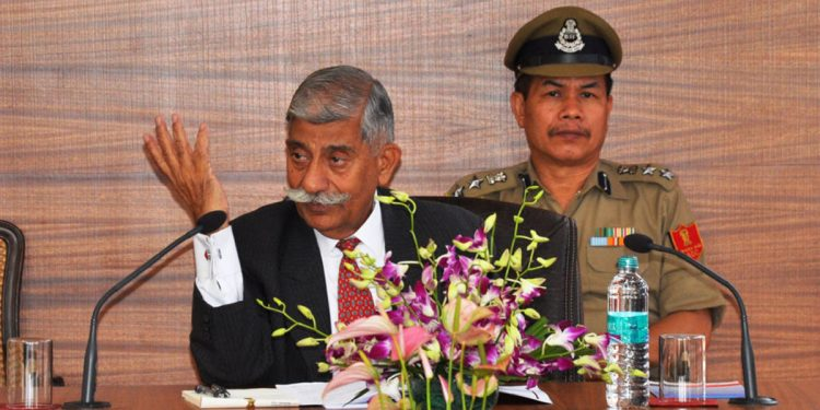 Arunachal Pradesh Governor Brig (Retd) BD Mishra. (File photo)