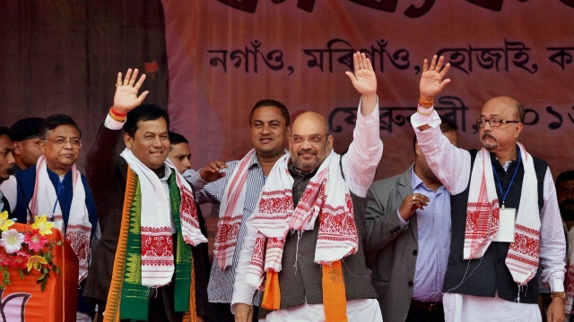 Assam Assembly Election: BJP workers protest over giving seat to AGP 1