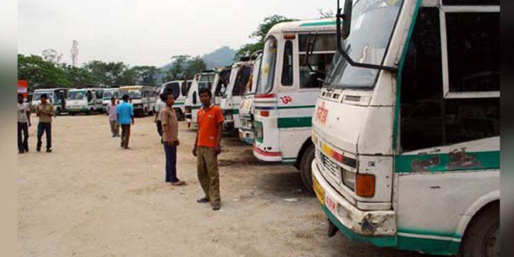 city bus in Guwahati
