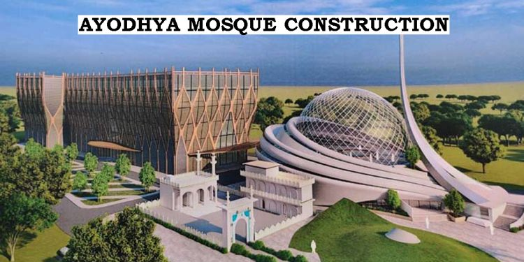 Hoisting of Tricolour to mark beginning of Ayodhya Mosque construction on Republic Day 1