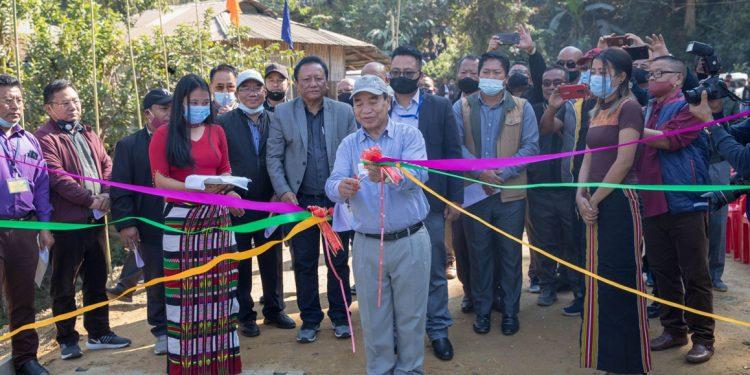 Mizoram: Chief Minister Zoramthanga inaugurates new bailey bridge over River Kawnpui in Bairabi 1