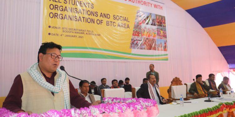 BTC chief Pramod Boro