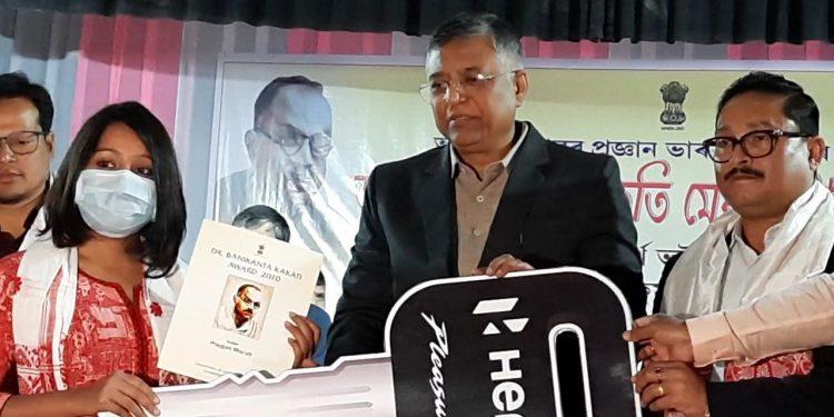Assam minister Sidhartha Bhattacharya